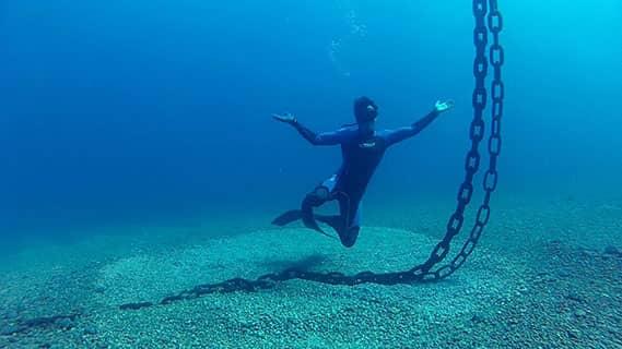 קורס צלילה חופשית בראש הנקרה - אבידג