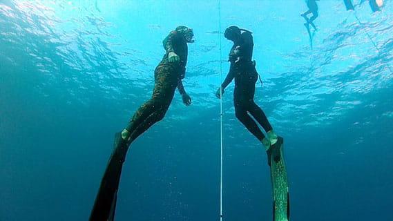קורס צלילה חופשית עם אבידג באילת או ים תיכון